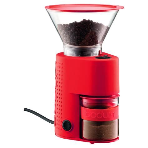 Our last blade grinder nearly drove us crazy with its insufferably loud grinding and constant it's worth mentioning again that the bodum bistro is indeed a conical steel burr grinder, which is the best method for grinding your fresh whole coffee beans. Bodum Bistro Electric Coffee Grider   Best coffee grinder ...