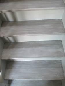 peindre un escalier en blanc ceruse palzoncom With peindre un escalier en gris 0 peindre un escalier ce serait le bonheur