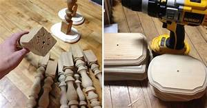 make candlestick centerpieces from table legs and wood With what kind of paint to use on kitchen cabinets for small square candle holders