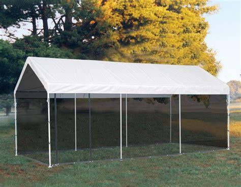 valance top canopy  screen enclosure kit