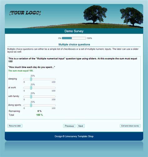 Free Limesurvey Templates by Enchanting Limesurvey Template Crest Exle Resume And