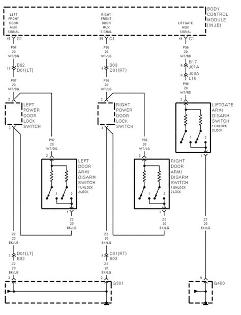 Wiring Diagrams For Locktronics Alarm Dodge Caravan