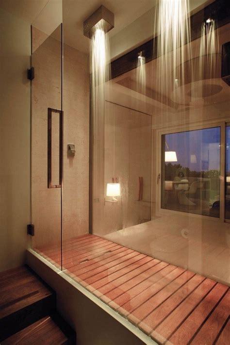 marvelous bathroom  walk  showers interior vogue