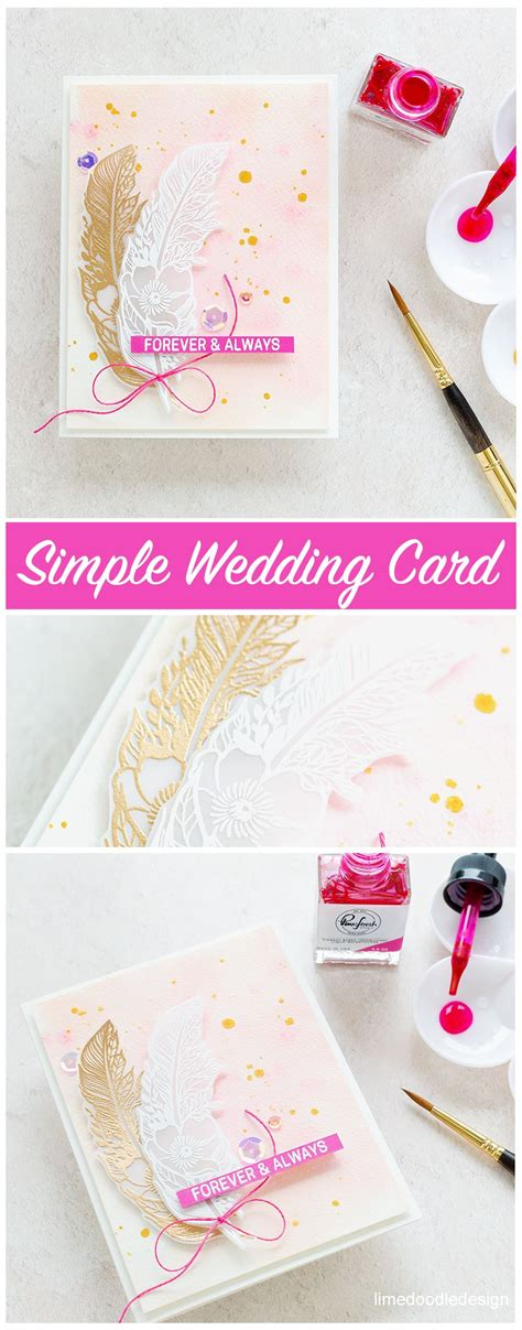 simple wedding card simple wedding cards wedding cards