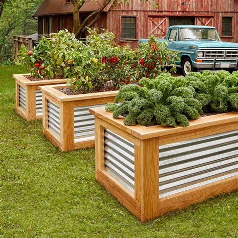 Raised Garden Bed by How To Build Raised Garden Beds Family Handyman