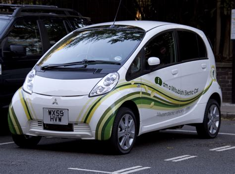 Electric Car by File Mitsubishi Electric Car Jpg