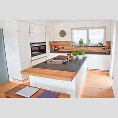 Küche  Weiß, Eiche Altholz