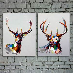 hand-painted modern european living room wall art picture ...