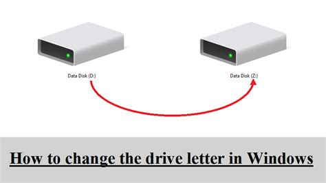 how to change drive letter how to change drive letter in windows 33793