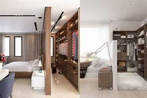 Dressing Derrière Tete De Lit :  ~ Premium-room.com Idées de Décoration