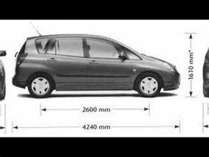 Toyota Verso Dimensions : toyota verso dimensions youtube ~ Medecine-chirurgie-esthetiques.com Avis de Voitures
