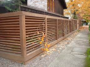 Modern Fence Picture Idea The Dramatic Fence Designs For Your Front Yard