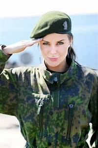 Finnish Female Soldier image - Females In Uniform (Lovers ...