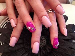 Eye Candy Nails & Training - Acrylic nails with baby pink ...