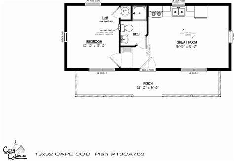2 Bedroom Tiny Houses Floor Plans
