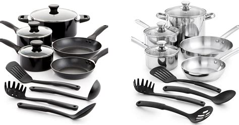 cookware stainless steel trade tools macys nonstick hip2save