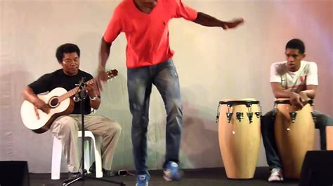 Andean influences can perhaps be best heard in wind instruments and the shape of the melodies, while the african influences can be heard in the rhythm and percussion instruments. Afro-Peruvian Music and Dance: Zapateo, Cajon y Festejo - YouTube
