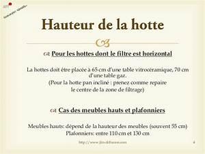 Hauteur Hotte Aspirante : comment choisir une hotte de cuisine ~ Carolinahurricanesstore.com Idées de Décoration