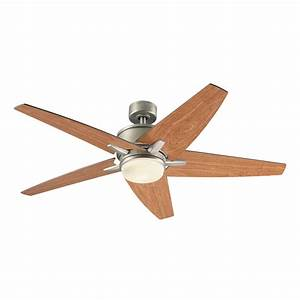 Ceiling fan light volts : Kichler in nickel indoor downrod mount ceiling fan