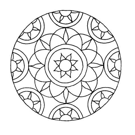 Kleurplaat Mandala Kleuters leuk voor mandala 0024