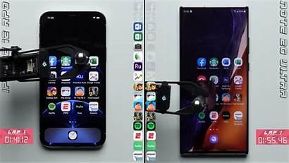 Iphone Pro Galaxy Note Ultra Speed Test