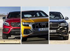 Audi Q8 Vs BMW X6 Vs MercedesBenz GLE Coupe What's