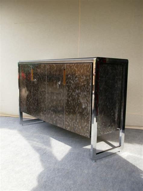 mobilier bureau industriel design mobilier industriel de bureau en acier brosse porte
