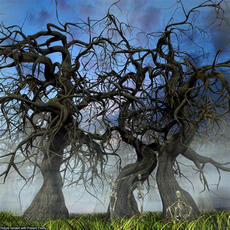 Scary Halloween Props Youtube by Flinks Scary Trees 3d Models Flink