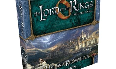 Icv2 Lord Of The Rings The Card Game Enters The Wilds