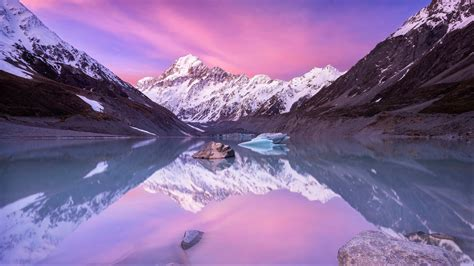 Picture Hd by Aoraki Mount Cook New Zealand Picture For Nature Images