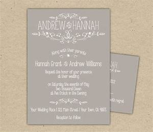 Wedding invitations online gangcraftnet for How to do wedding invitations online