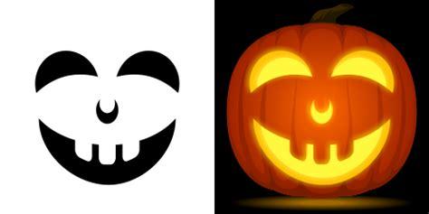 happy pumpkin stencil