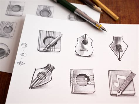 mac icon sketching  ramotion dribbble