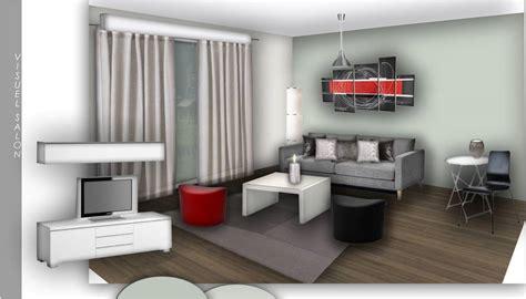 salon et cuisine décoration salon et cuisine