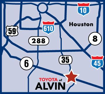 toyota locations near toyota of alvin alvin tx business directory