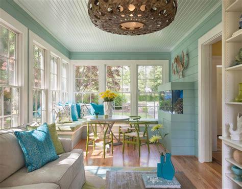 fresh sun room design ideas infused  color  style