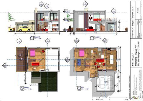 plan de maison 3 chambres salon plan de maison avec mezzanine vendome basse defjpg voici