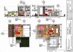 plan de maison avec mezzanine tous les plans de maisons With plan maison avec mezzanine