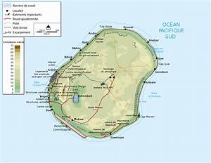 Large detailed physical map of Nauru with buildings roads and airport - Vidiani.com - Maps of ... Nauru