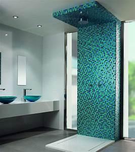 Farbe Für Fliesen : mosaiksteinchen f r die dusche bad fliesen kleines bad ~ A.2002-acura-tl-radio.info Haus und Dekorationen