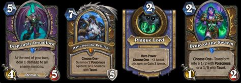 hearthstone druid deck frozen hearthstone knights of the frozen throne out now