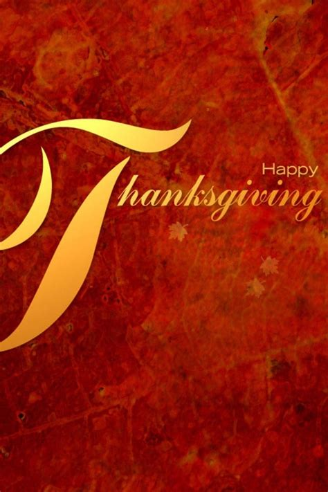 Happy Thanksgiving Wallpaper Iphone by Happy Thanksgiving Day Iphone 4 Wallpapers Free 640x960 Hd