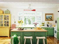 and green kitchen 7 best images about colorful cabinets on 6258