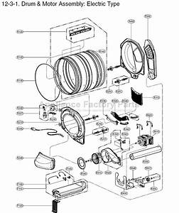My Lg Dryer Makes Noise When On  Need Parts Diagram