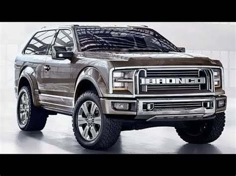 ford bronco interior price youtube