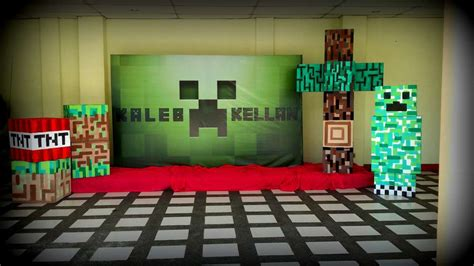 minecraft birthday party ideas photo    catch  party