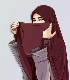 hijab drawing images hijab drawing anime muslim hijab cartoon