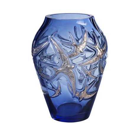 lalique vase grand vase lalique vessiere cristaux