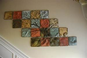 10 best of tile canvas wall art for What kind of paint to use on kitchen cabinets for ornamental wall art