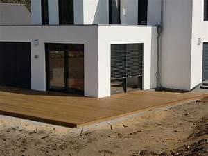 Holzterrassen und holzfliesen for Terrasse aus holz